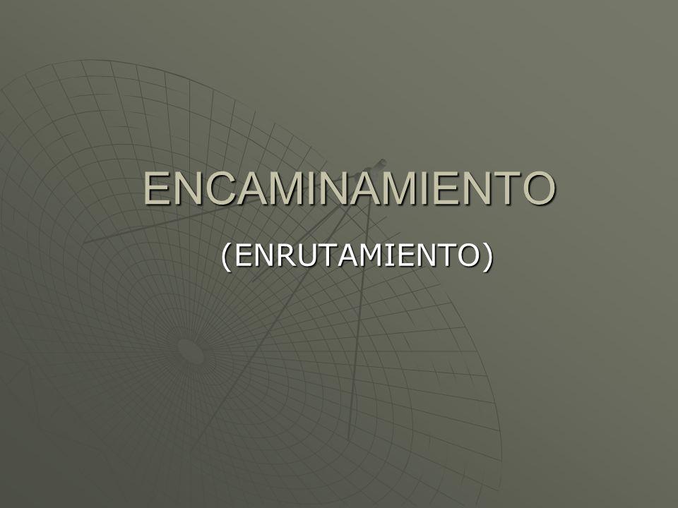 ENCAMINAMIENTO (ENRUTAMIENTO)