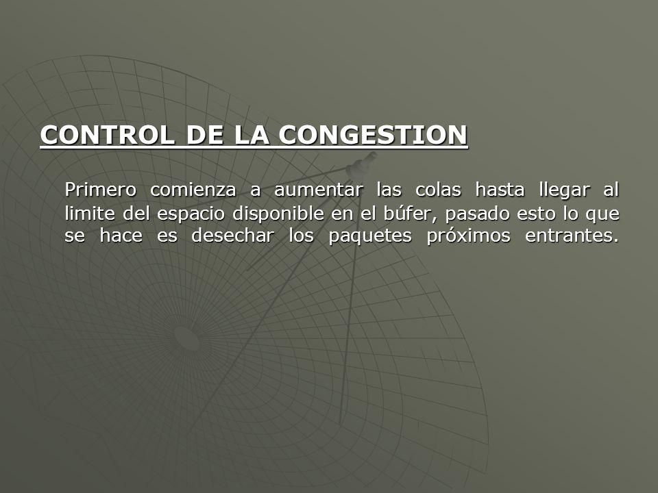 CONTROL DE LA CONGESTION