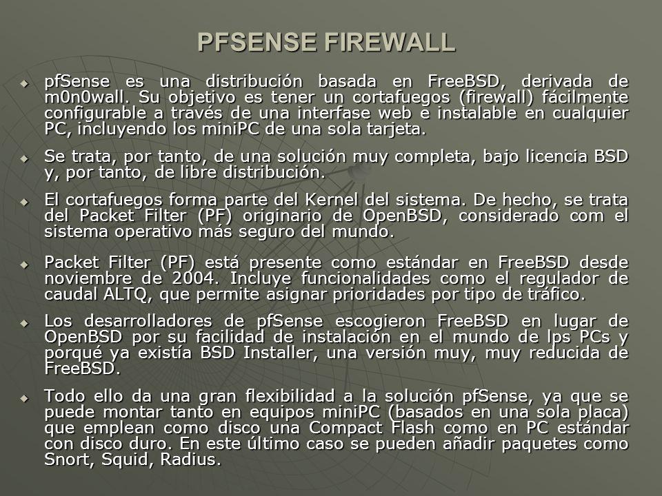 PFSENSE FIREWALL
