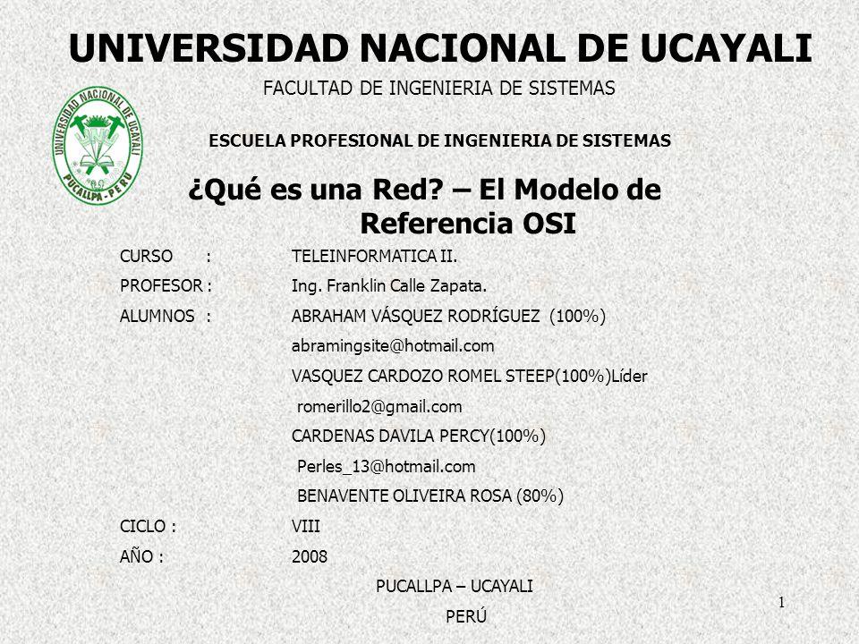 UNIVERSIDAD NACIONAL DE UCAYALI