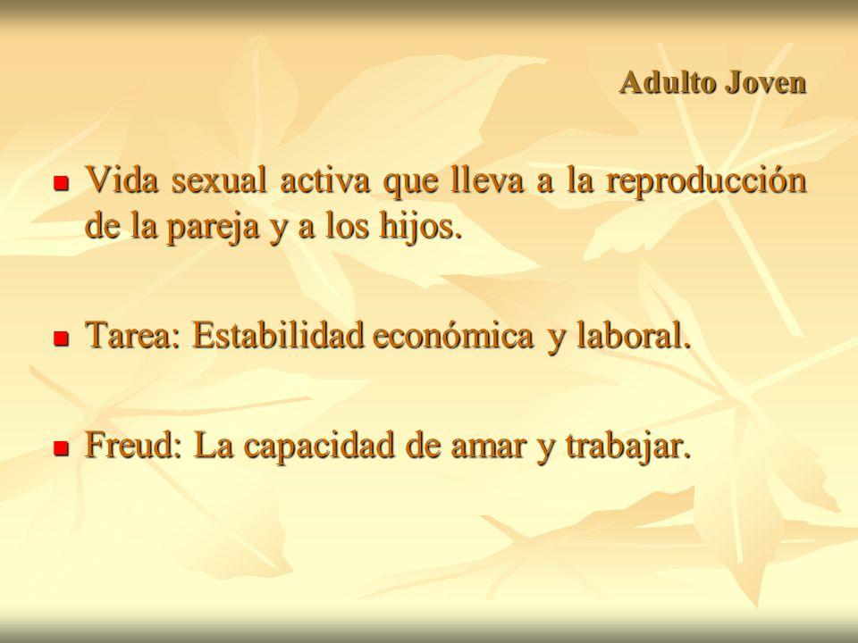Tarea: Estabilidad económica y laboral.