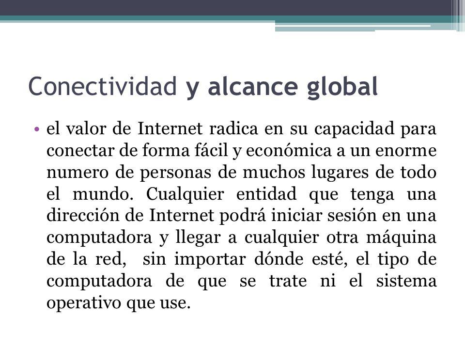 Conectividad y alcance global