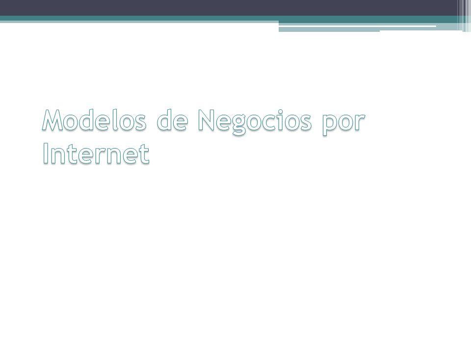 Modelos de Negocios por Internet
