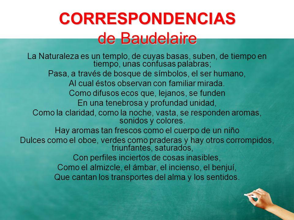 CORRESPONDENCIAS de Baudelaire
