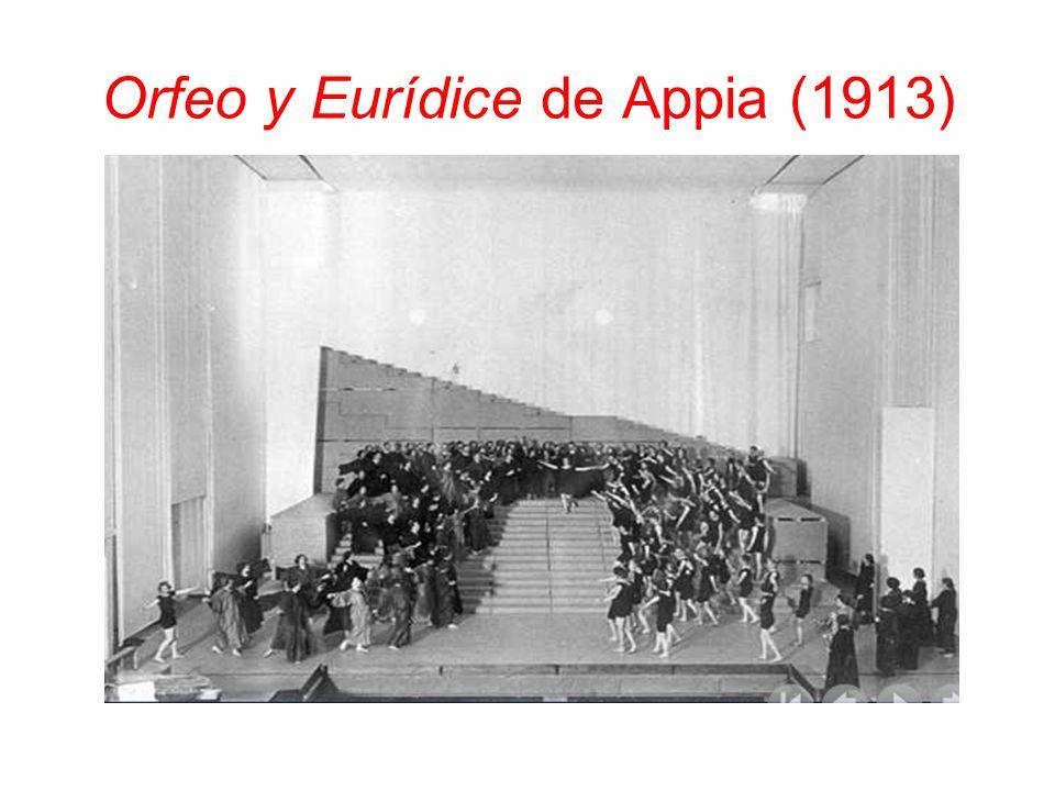 Orfeo y Eurídice de Appia (1913)
