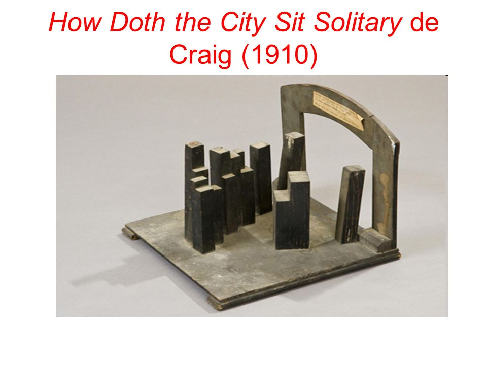How Doth the City Sit Solitary de Craig (1910)