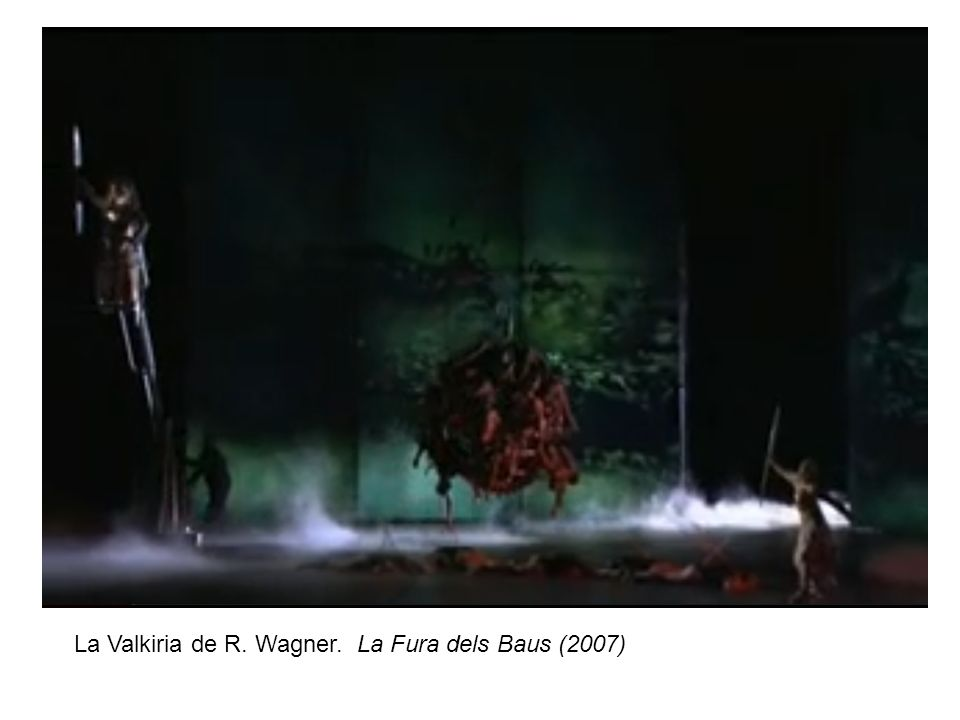 La Valkiria de R. Wagner. La Fura dels Baus (2007)