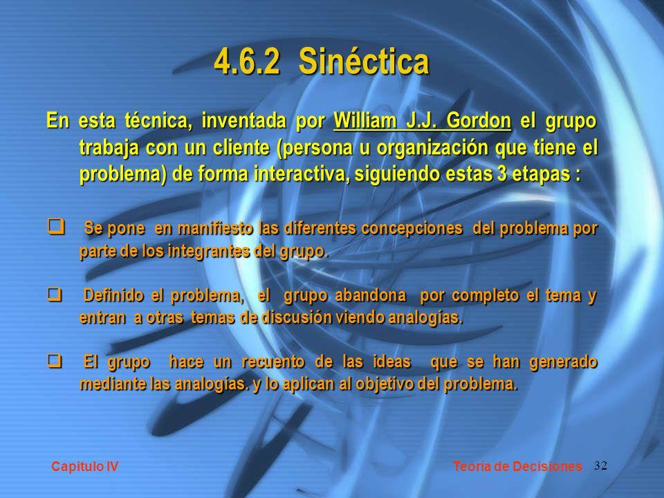 4.6.2 Sinéctica