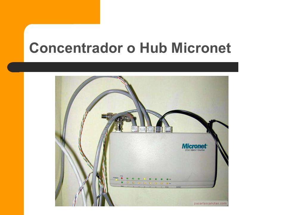 Concentrador o Hub Micronet