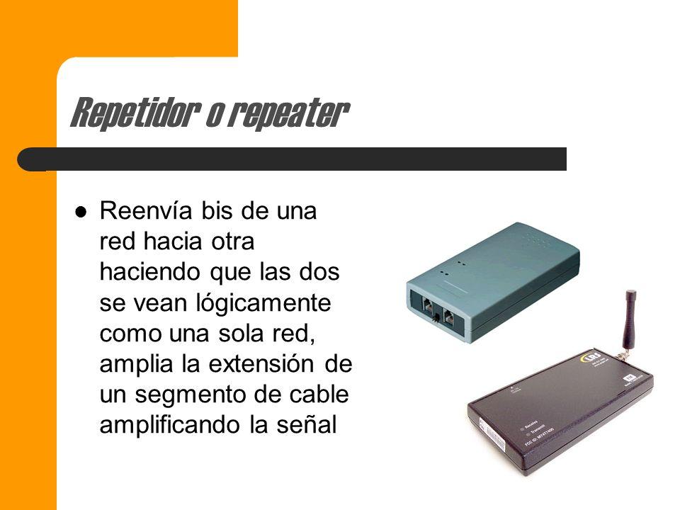 Repetidor o repeater