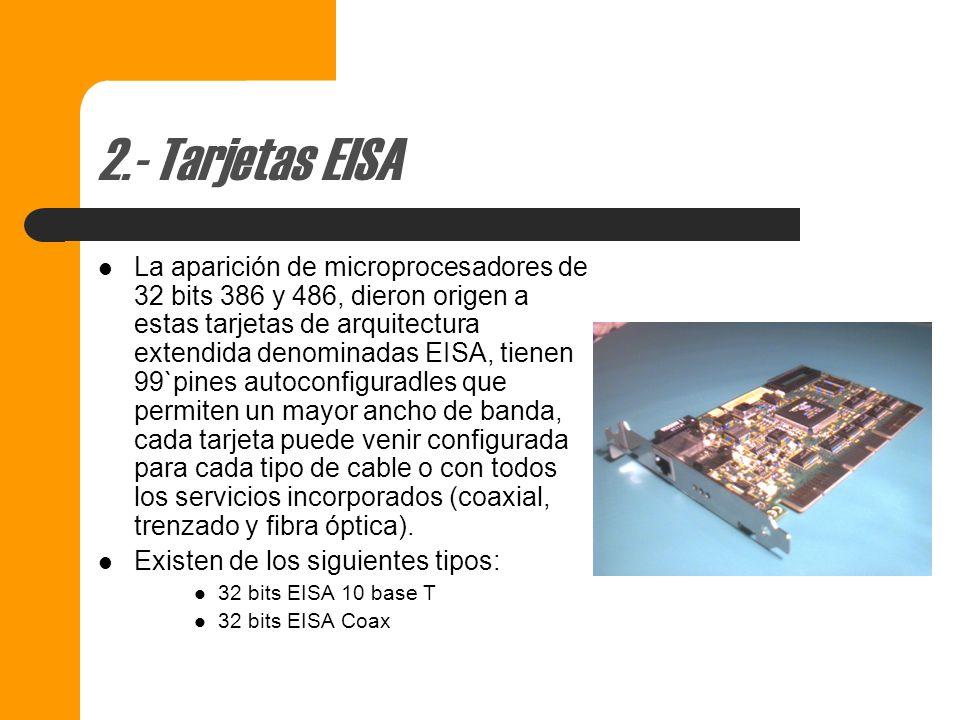 2.- Tarjetas EISA