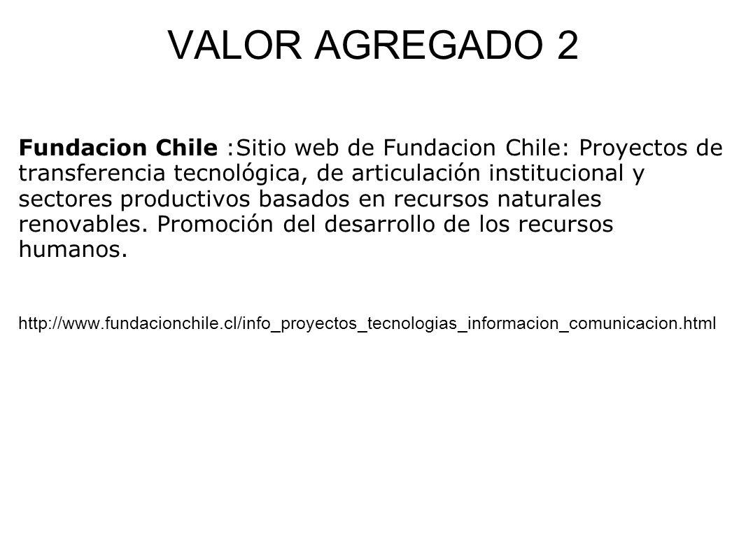 VALOR AGREGADO 2