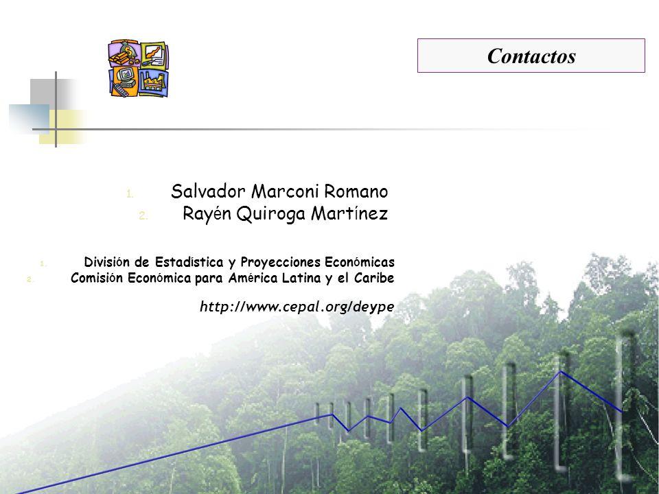 Contactos Salvador Marconi Romano Rayén Quiroga Martínez