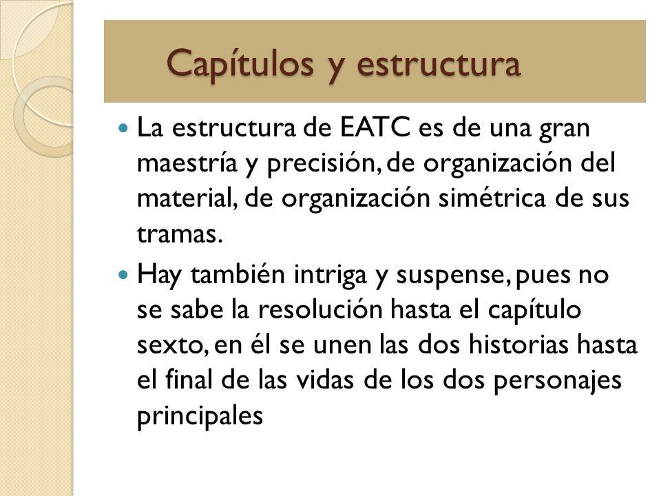 Capítulos y estructura