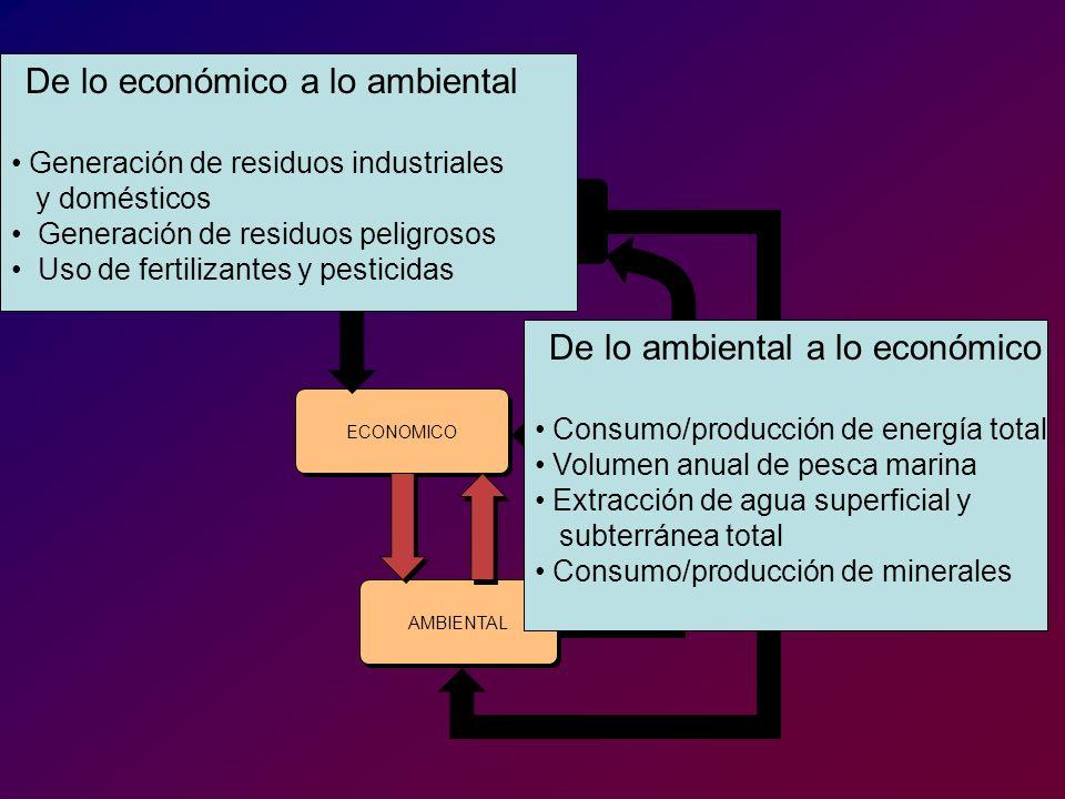 Generación de residuos industriales y domésticos
