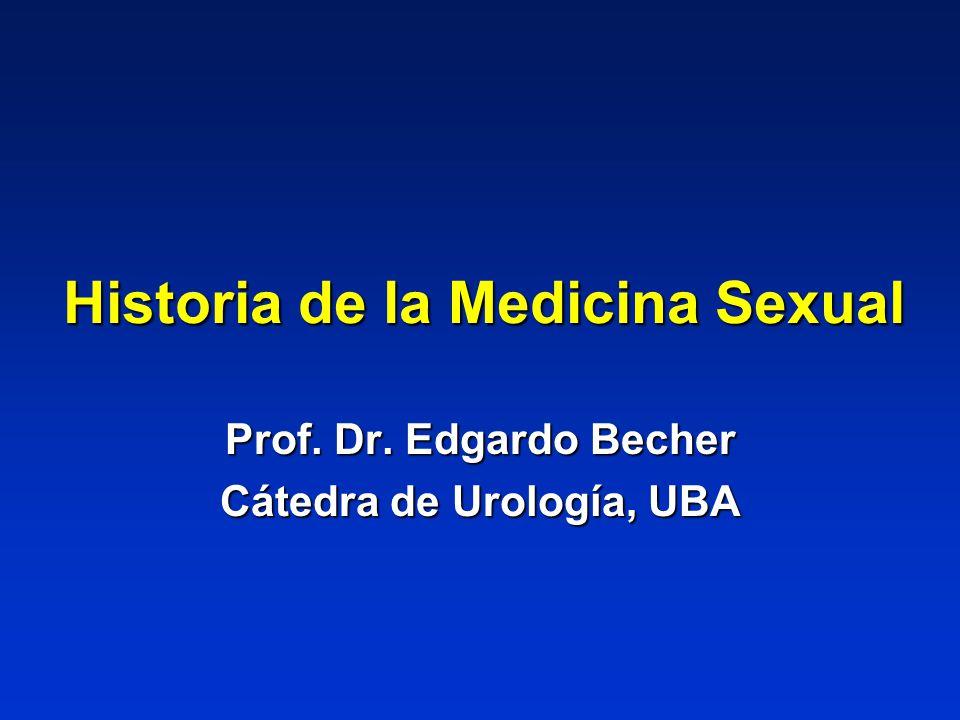 Historia de la Medicina Sexual
