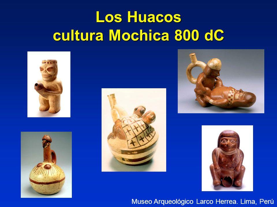 Los Huacos cultura Mochica 800 dC