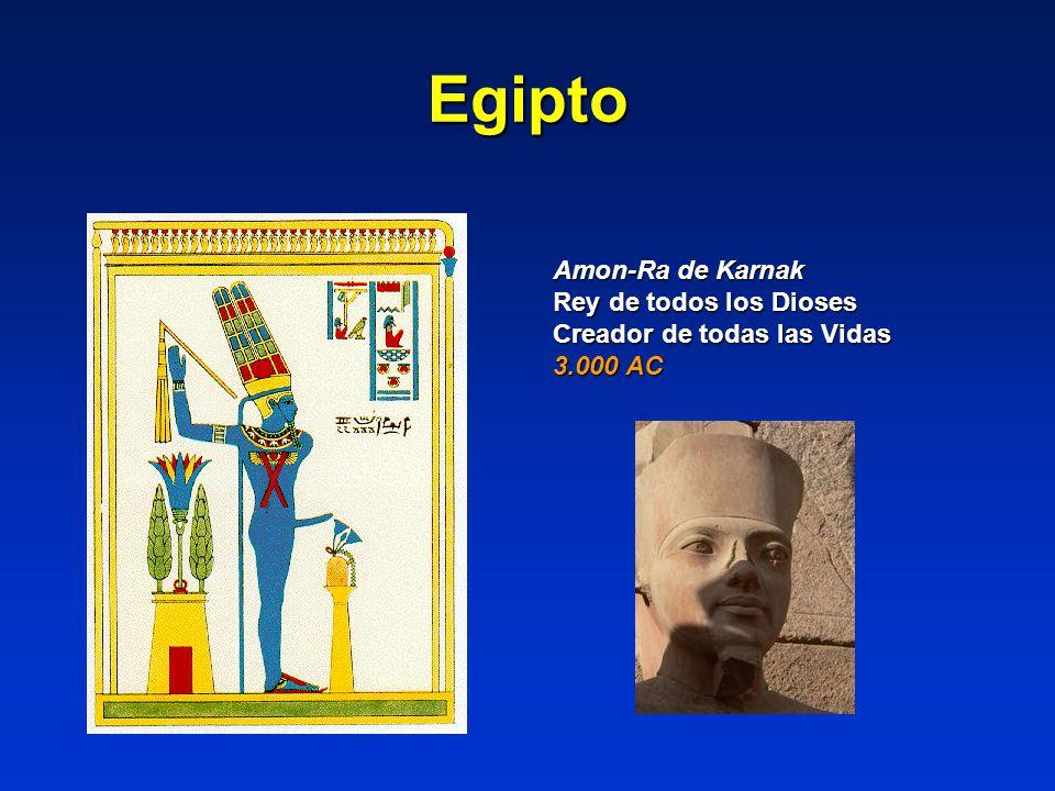 Egipto Amon-Ra de Karnak