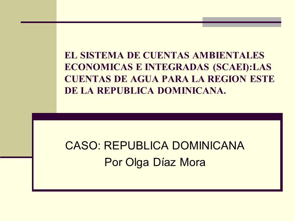 CASO: REPUBLICA DOMINICANA Por Olga Díaz Mora