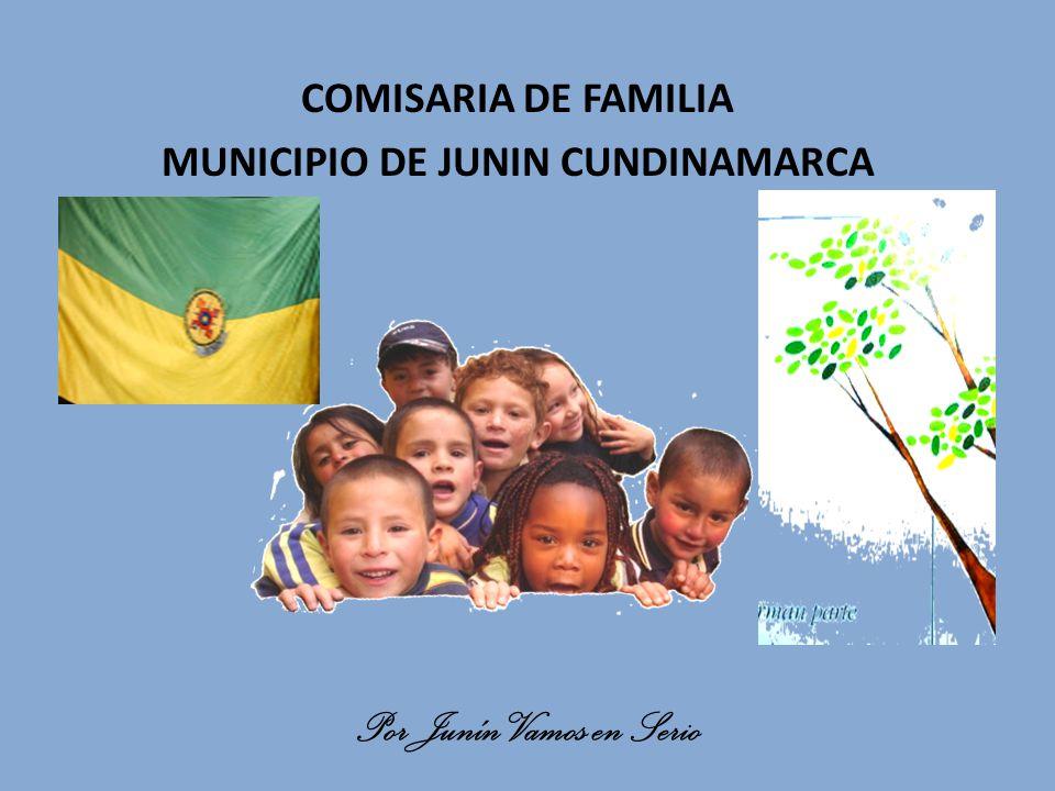 COMISARIA DE FAMILIA MUNICIPIO DE JUNIN CUNDINAMARCA