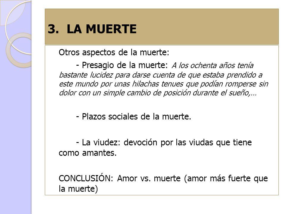 3. LA MUERTE