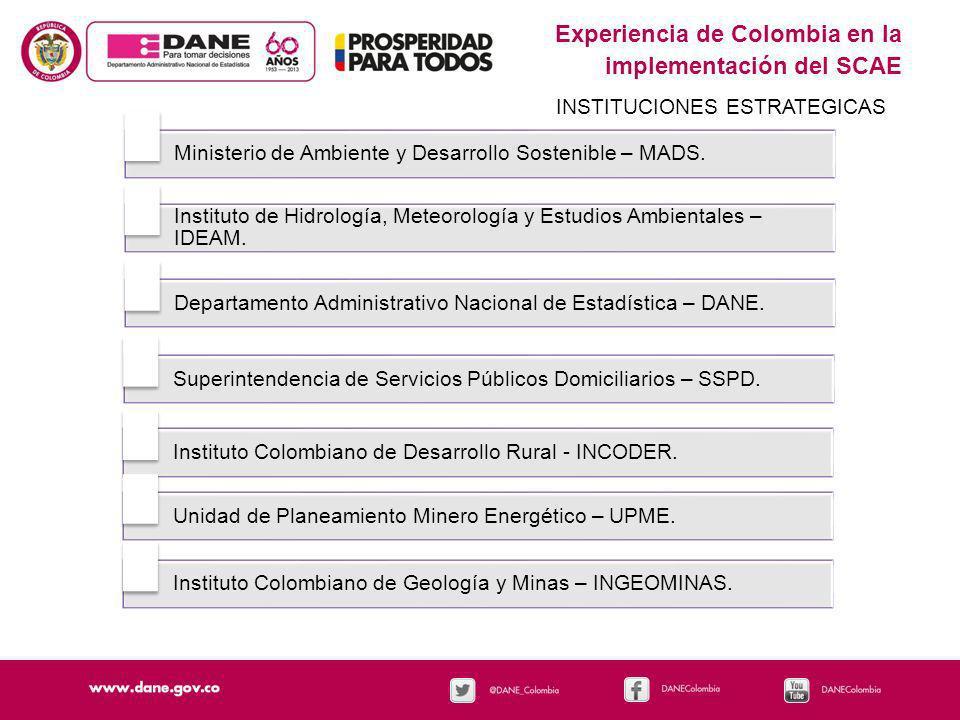 Experiencia de Colombia en la implementación del SCAE