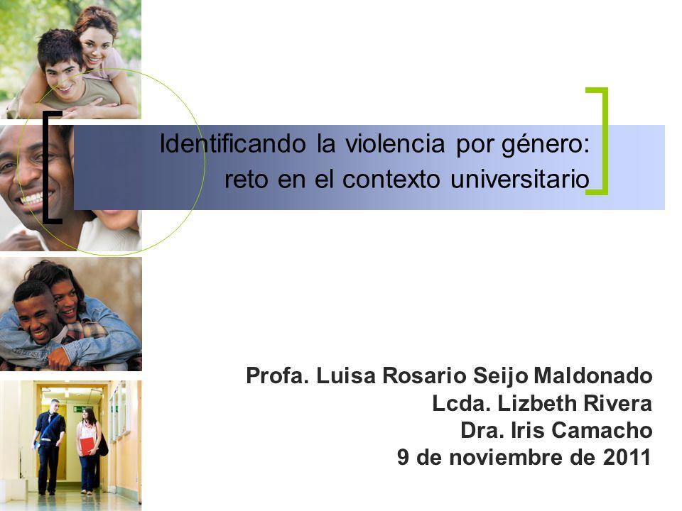Identificando la violencia por género: reto en el contexto universitario