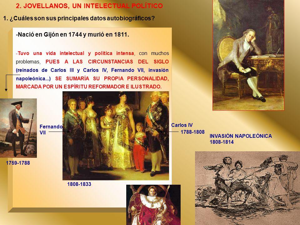 2. JOVELLANOS, UN INTELECTUAL POLÍTICO