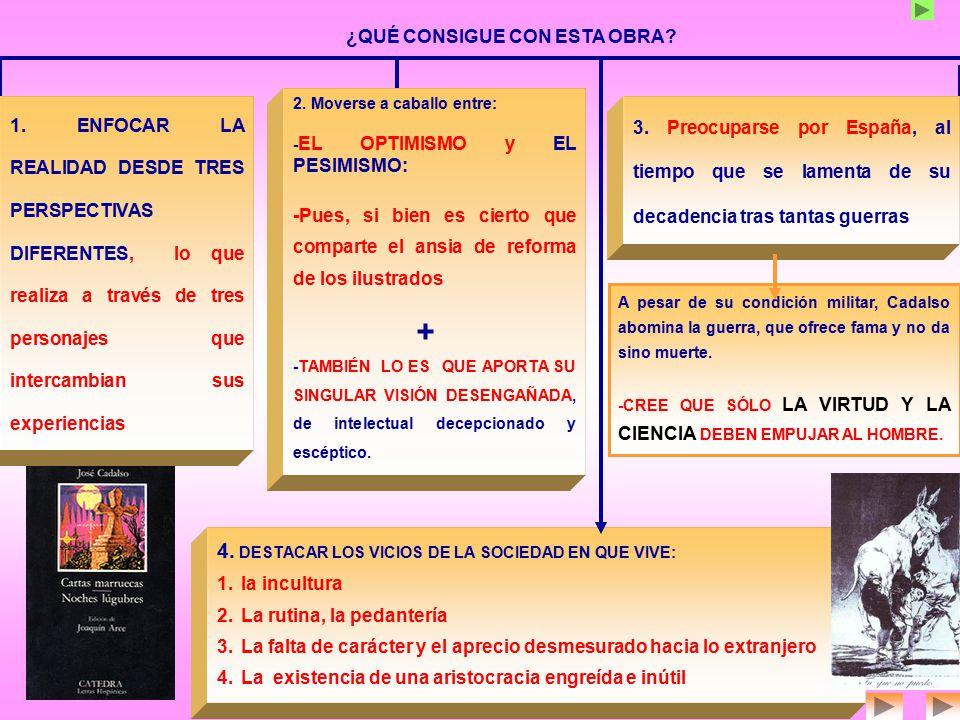 4. DESTACAR LOS VICIOS DE LA SOCIEDAD EN QUE VIVE: