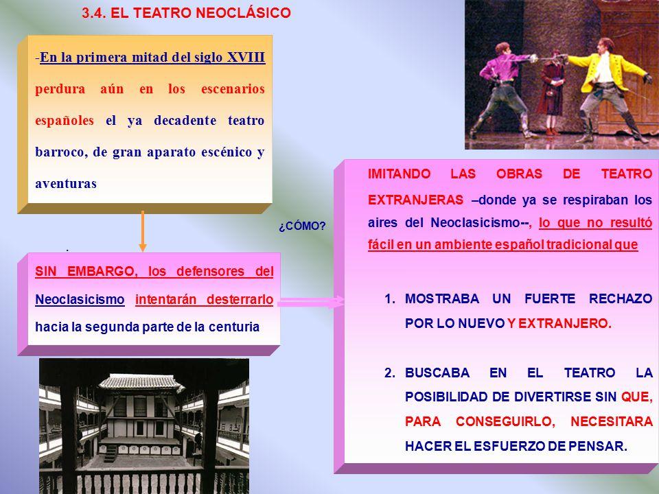 3.4. EL TEATRO NEOCLÁSICO