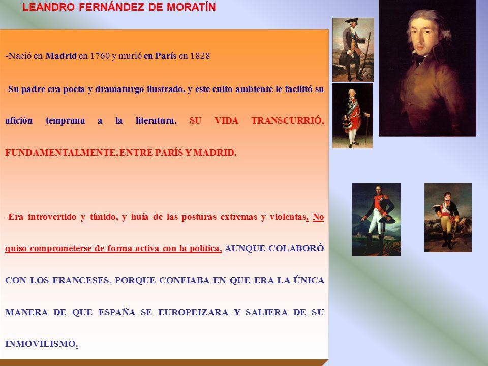 LEANDRO FERNÁNDEZ DE MORATÍN
