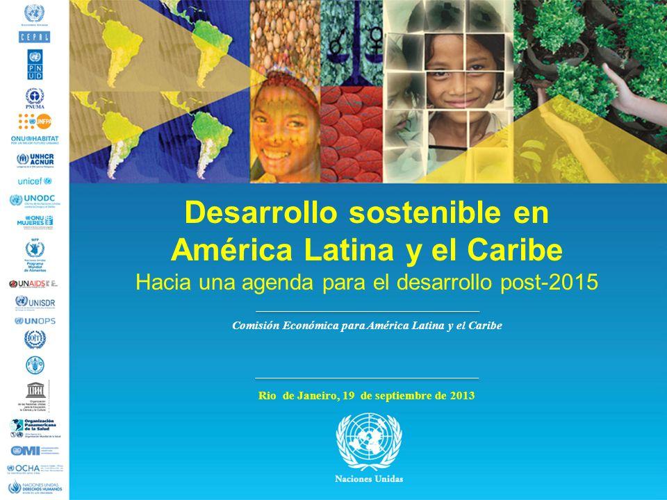 Desarrollo sostenible en América Latina y el Caribe