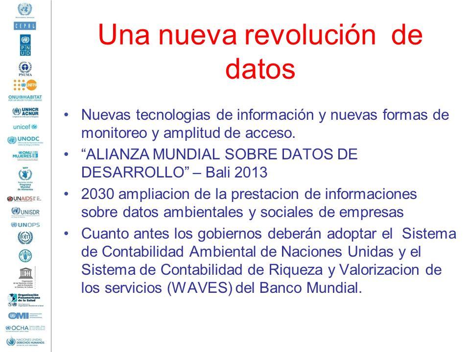 Una nueva revolución de datos