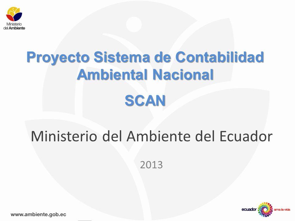 Proyecto Sistema de Contabilidad Ambiental Nacional