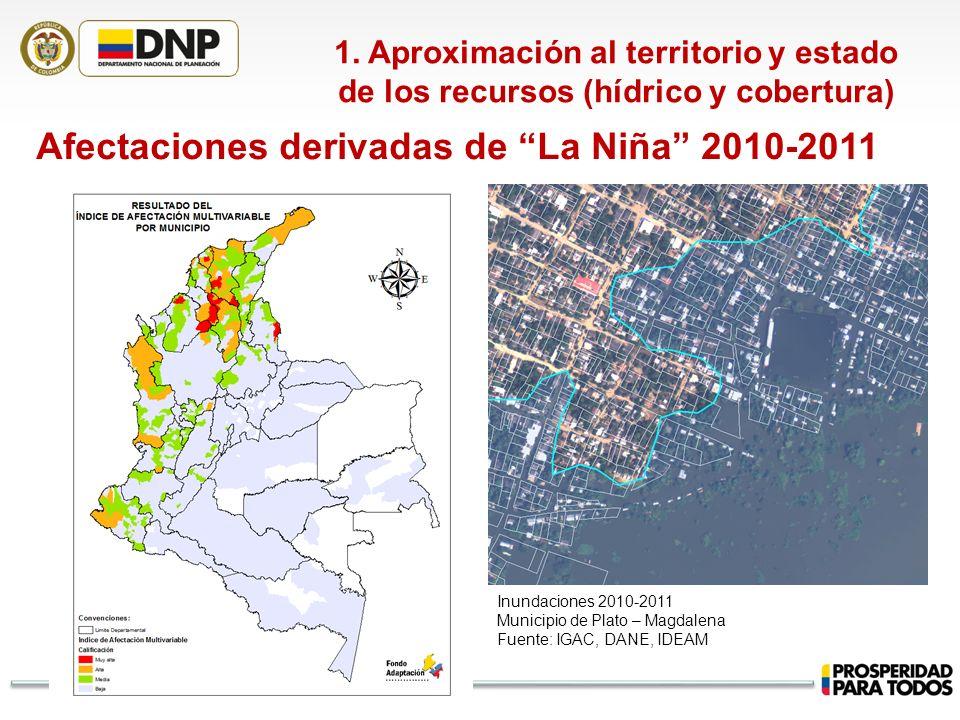 Afectaciones derivadas de La Niña 2010-2011