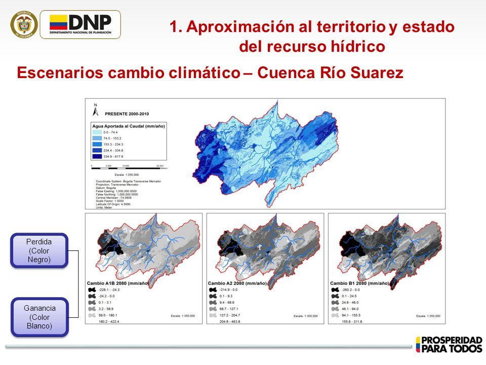 1. Aproximación al territorio y estado del recurso hídrico