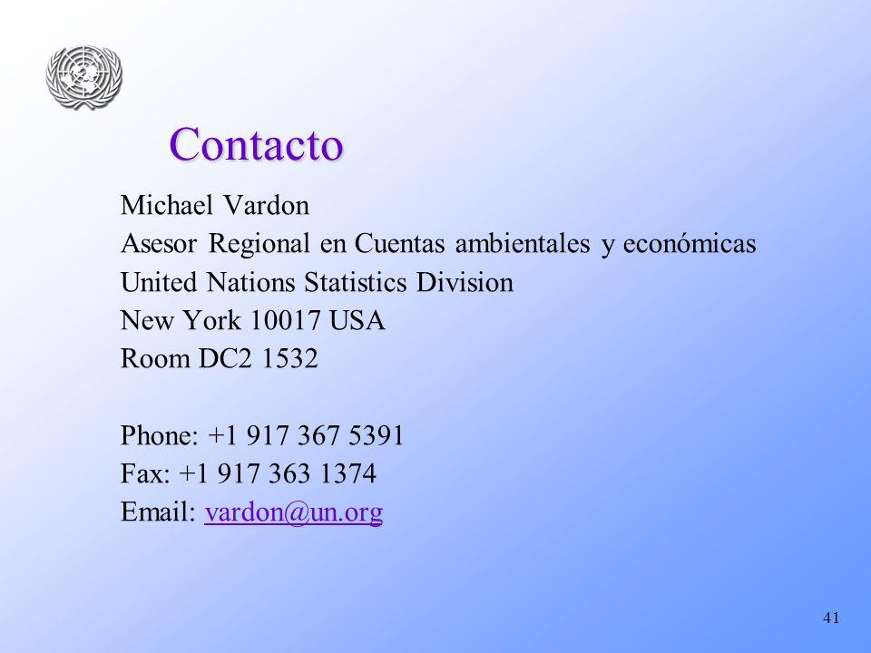Contacto Michael Vardon