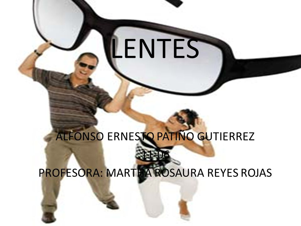 LENTES ALFONSO ERNESTO PATIÑO GUTIERREZ 11-06