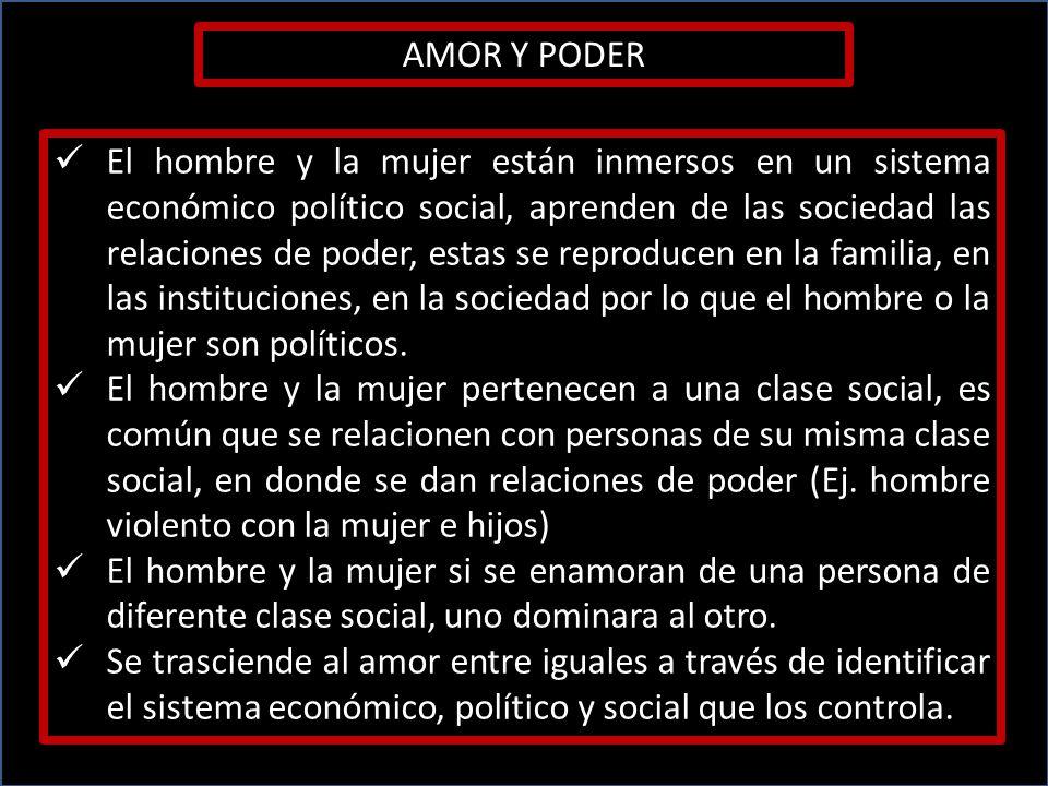 AMOR Y PODER