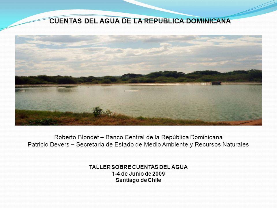 CUENTAS DEL AGUA DE LA REPUBLICA DOMINICANA