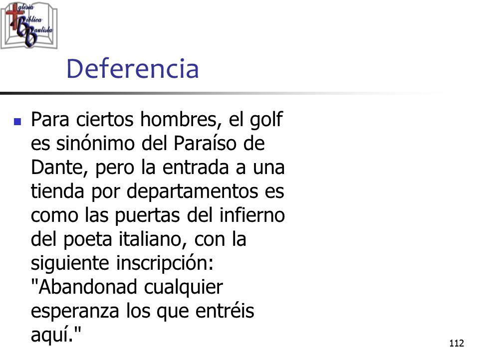 Deferencia