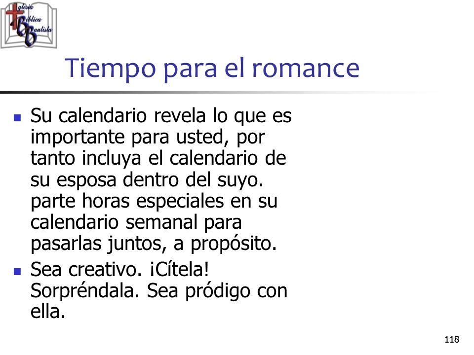 Tiempo para el romance