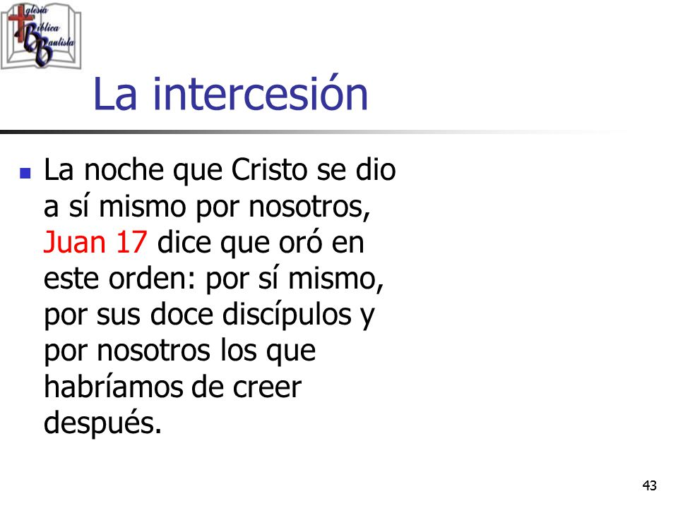 La intercesión