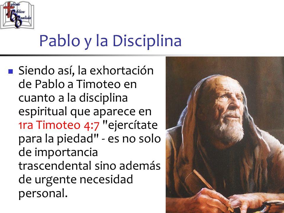 Pablo y la Disciplina