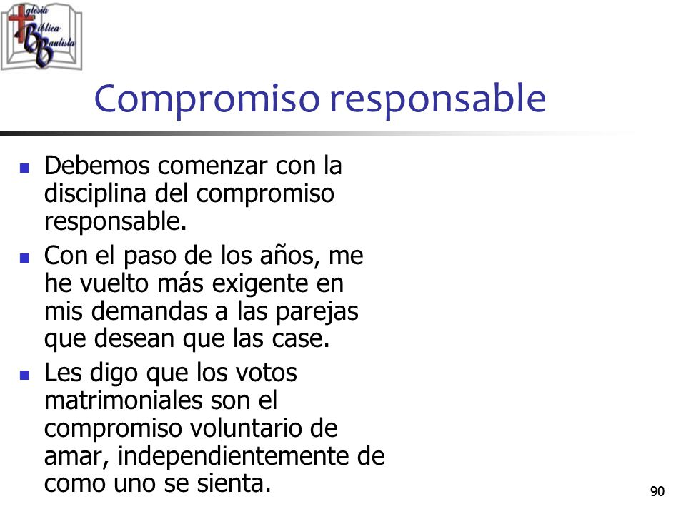 Compromiso responsable