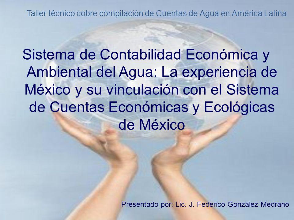 Taller técnico cobre compilación de Cuentas de Agua en América Latina