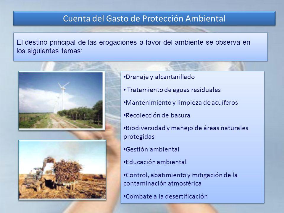 Cuenta del Gasto de Protección Ambiental