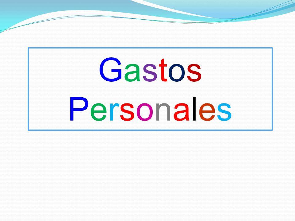 Gastos Personales