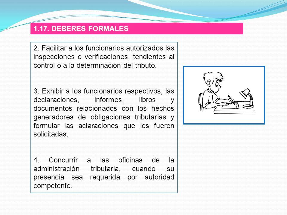 1.17. DEBERES FORMALES