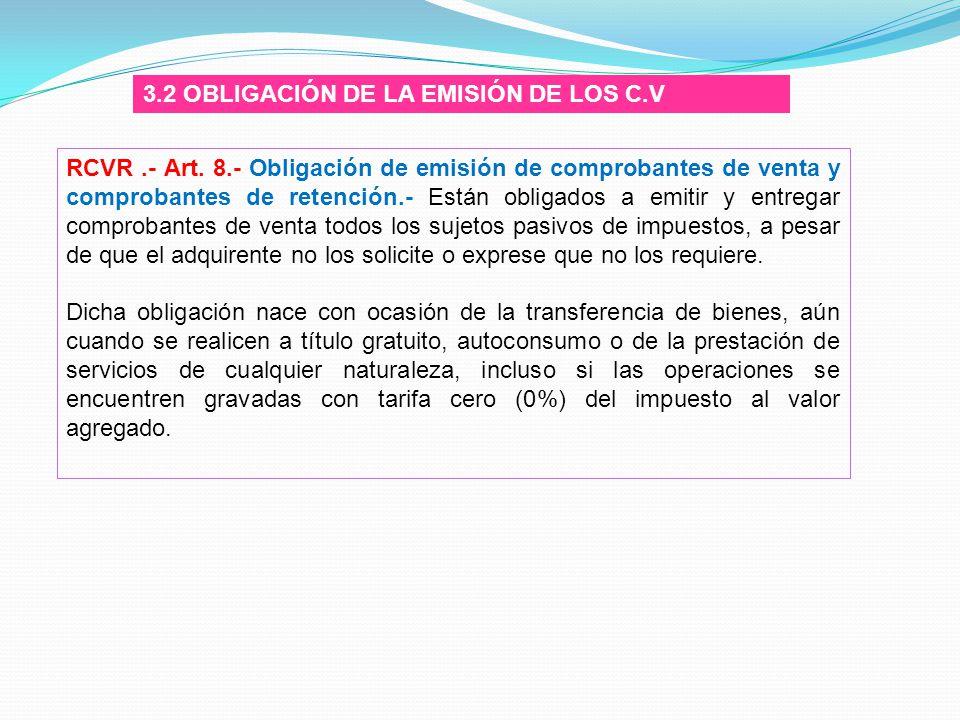 3.2 OBLIGACIÓN DE LA EMISIÓN DE LOS C.V